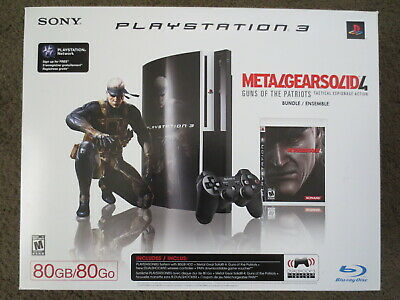 Sony PlayStation 3 80gb Backwards Compatible Console PS3 System CECH-E01 MG