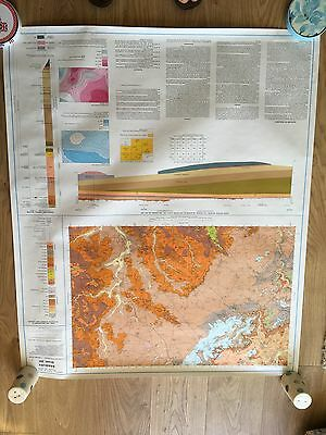BANBURY Geological Survey Map Sheet 201 solid and drift