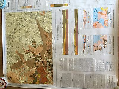 PETERBOROUGH Geological Survey Map Sheet 158 solid and drift