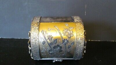 Antique Wilcox Silver Plate Co. Lined Purse