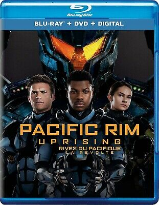 Pacific Rim: Uprising (Blu-ray/DVD, 2018, 2-Disc Set)