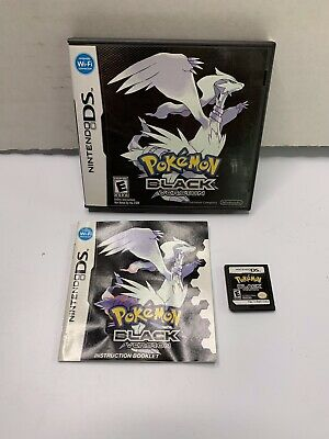 Pokemon: Black Version (Nintendo DS, 2011) Complete Tested & Working