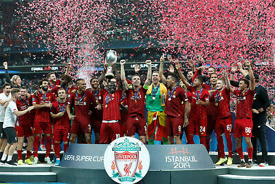 Liverpool FC - UEFA Super Cup Winners 2019 - A1/A2/A3/A4 Poster / Photo Print