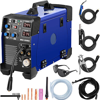5 in 1 MIG / MAG / TIG / FLUX / MMA Inverter Welder 200Amp Combo Welding Machine