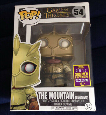 Funko Pop The Mountain #54 Game of Thrones SDCC Exclusive with BOX