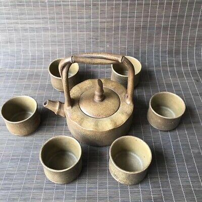 Chinese Exquisite Yixing Zisha Teapot&Cups Handmade Carved 300CC ZSH033