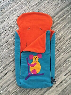Echidna FOOTMUFF Baby PRAM SEAT LINER SLEEPING BAG COSY TOES 2in1 Universal fit