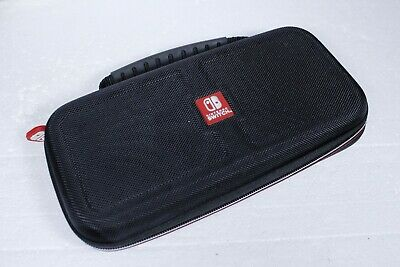 Nintendo Switch Carrying Case Protective Deluxe Travel Case Black Nylon Case