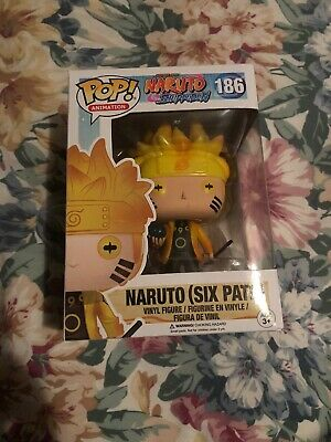 Funko Pop! Naruto Shippuden Naruto (Six Path) #186 Hot Topic Exclusive GITD GLOW