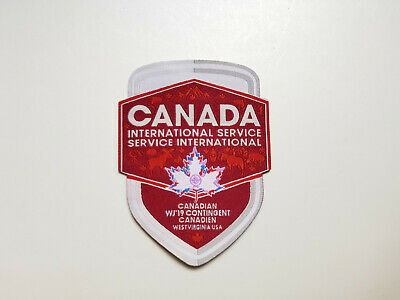 24th World Scout Jamboree 2019 Canadian Contingent IST Patch