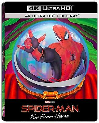 Spider-Man Far from Home (4K UHD + Blu-ray Steelbook) NEW - PRE-ORDER