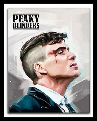 """10/"""" x 8/"""" CILLIAN MURPHY THOMAS SHELBY PEAKY BLINDERS BBC METAL PLAQUE SIGN 321"""