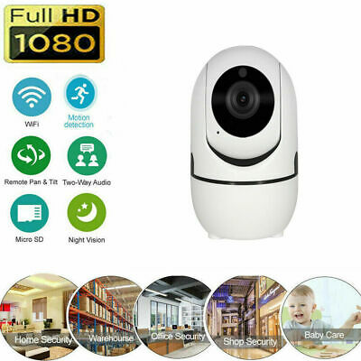 1080P HD cámara inalámbrica IP WiFi Home Security Camera IR visión nocturna