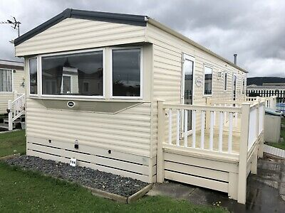 used static caravan decking