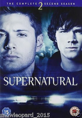 SUPERNATURAL COMPLETE SERIES 2 DVD  2nd Second Season Two NEW UK super natural