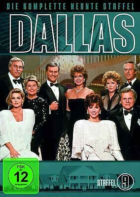DALLAS Complete Series 9 DVD 9th Nineth Season Nine Ninth Brand New Sealed UK R2
