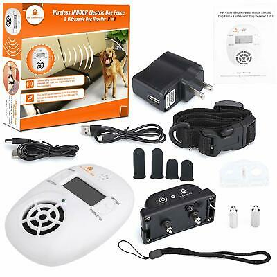 Pet Control HQ Indoor Pet Wireless Electric Fence Barrier Containment System In