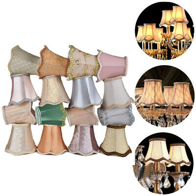Modern Fabric Cloth Easy Fit Ceiling Pendant Drum Light Shades Table Lampshade