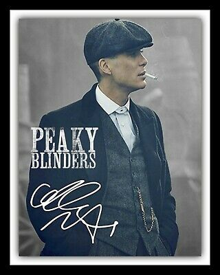 Thomas Shelby Peaky Blinders Cillian Murphy Metal Picture Sign Tin Plaque 1743