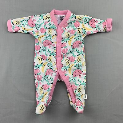 Girls size 00000, Target, soft cotton coverall / romper, GUC