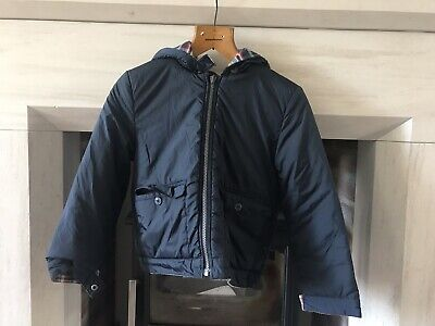Mini Boden Reversable Coat Age 7-8year