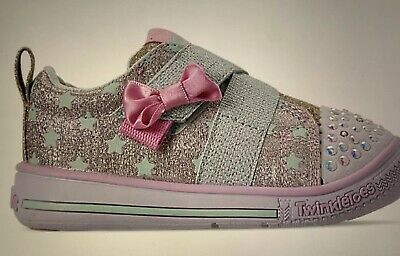 Twinkle Toes Skechers Size 9 New Toddler girl's
