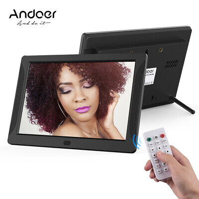 """7"""" Digital Photo Frame 7inch Electronic Picture Album with Remote Control O0B7"""