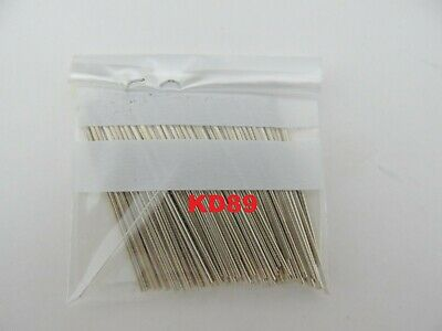 Assortment of 100 pins in steel for clocks and alarm clocks length 40mm