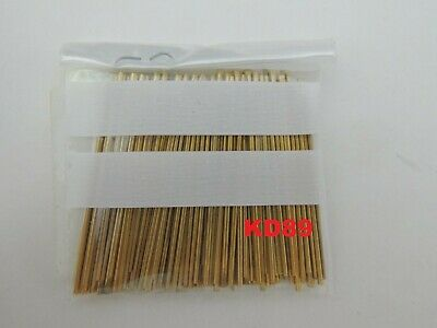 Assortment of 100 pins in brass for clocks and alarm clocks length 40mm