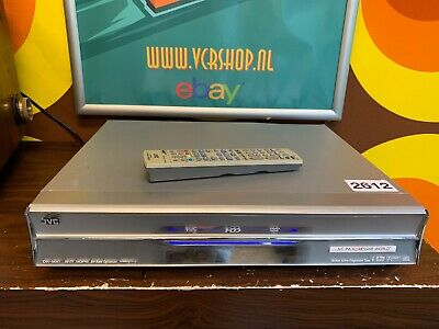 JVC DR-MX1 VHS - DVD - 160GB HDD Recorder + Remote