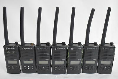 2 MOTOROLA HT90 2 Way Radios Walkie Talkie with Chargers
