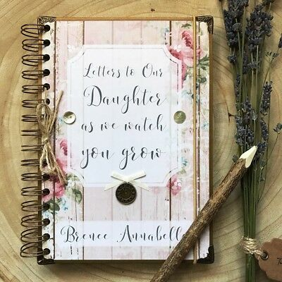Personalised Letters To my Daughter As I watch You Grow Journal