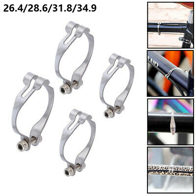 Bike Parts Bicycle  Wire Fixed Ring Brake Line Clamp Cable Clip Pipe Buckle