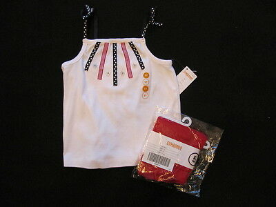 Gymboree Red, White & Blue 2 Piece Set-New W/tags-Great For All Summer Long!!!