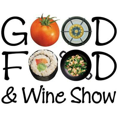 2 X Entry to Brisbane Good Food and Wine Show 25 - 27th October