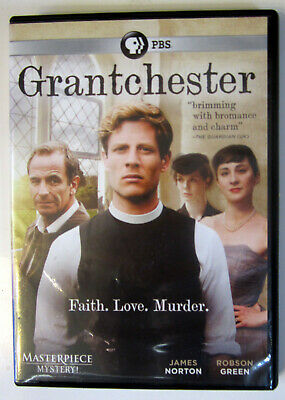 DVD GRANTCHESTER: Season 1 (2015 PBS Masterpiece Mystery!) 2-Discs Very Good