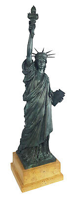 Bronze sculpture Statue of liberty USA New York figure antique style 62cm