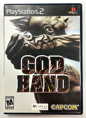 God Hand (Sony PlayStation 2, PS2, 2006) Complete Capcom Clover Studio Tested