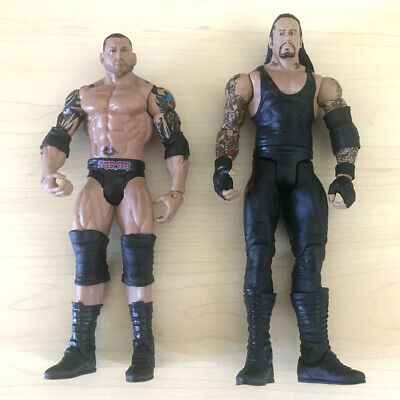 WWE Series 6 Ultimate Rivals Undertaker & Batista Wrestling Action Figure Toy
