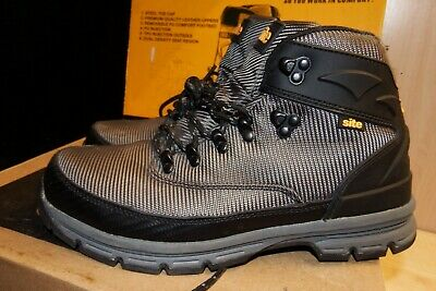 NEW SITE ASTEROID WOVEN MESH SAFETY BOOTS TRAINERS GREY S1 P SRA UK 11 45
