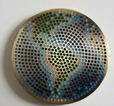 Earth Day Geocoin for Geocaching - Antique Bronze- new, packaged + unactivated