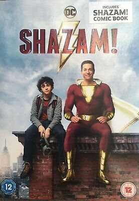 SHAZAM! 2019 DVD + Rare Slipcover And Booklet New and sealed. Free delivery