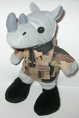NAVY BEAN BRIGADE COLLECTIBLE MILITARY CAMOUFLAGE POLAR BEAR TOY NWT CAMO U.S