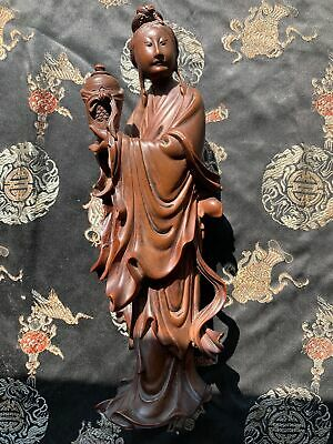 Great Chinese Carved Qing Period Hardwood Figuring