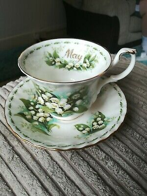 royal albert lily of the valley cup and saucer
