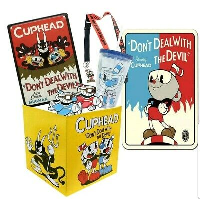 EXCLUSIVE Cuphead Devil Enamel Collector PinFeat The Devil From Cuphead