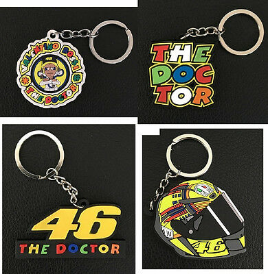 Moto GP Valentino Rossi Keyring The Doctor Key Ring NEW  - UK Seller  46 VR46