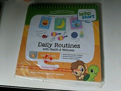 Leapstart Daily Routines With Health And Wellness Level 1 Preschool Brand New