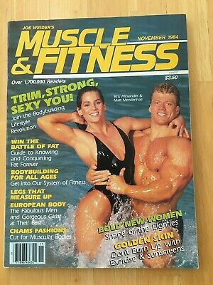 MUSCLE & FITNESS magazine November 1984 vintage bodybuilding back issue