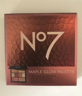 No 7 Maple Glow Palette for Eyes & Face. Brand New & Sealed